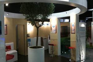 conception stand salon