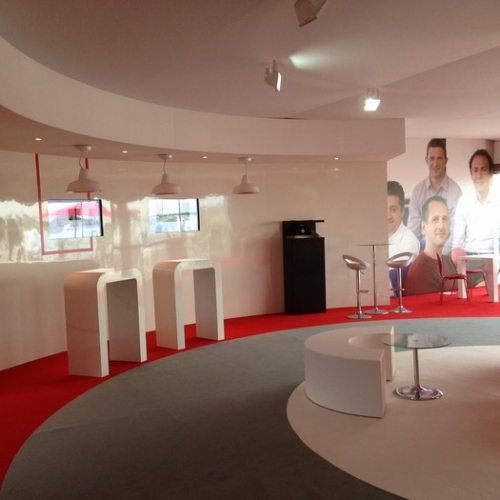 conception stand salon